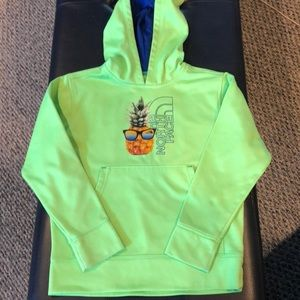 Other - The North Face boys hoodie pineapple sunglasses